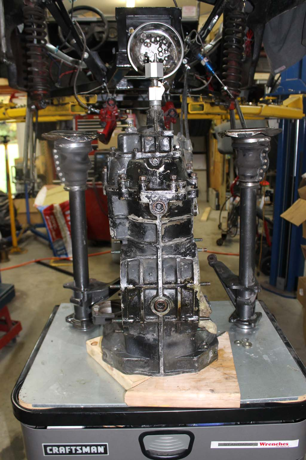 Reversing the VW swingaxle transaxle  Reseal and