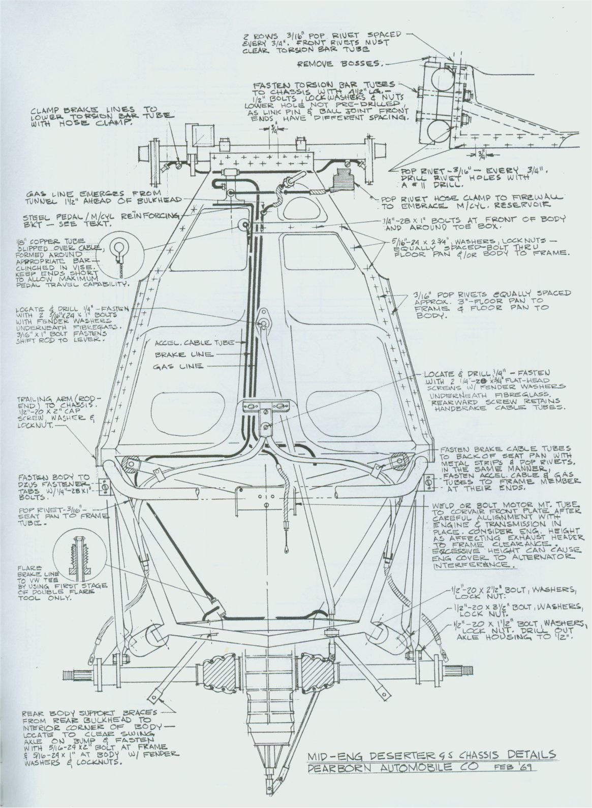 1966 corvette chassis diagram